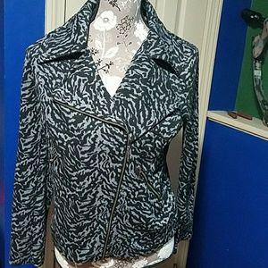 FASHION BUG Black & Gray Jacket